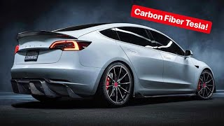 MEET THE CARBON FIBER TESLA ALEX CHOI SHOULD HAVE GOT!