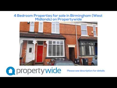 4 Bedroom Properties for sale in Birmingham (West Midlands) on Propertywide