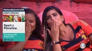 Globo HD⁶⁰ | Gols de Sport 3 x 0 Petrolina pela 5ª rodada do Pernambucano 2019