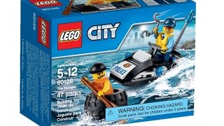 LEGO City (Polis) Lastik Kaçısı  - Tire Escape   60126 Seti İncelemesi