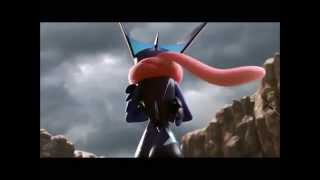 Super Smash Bros for Wii U and for 3DS Greninja (Trailer, Fotos y movimientos especiales)