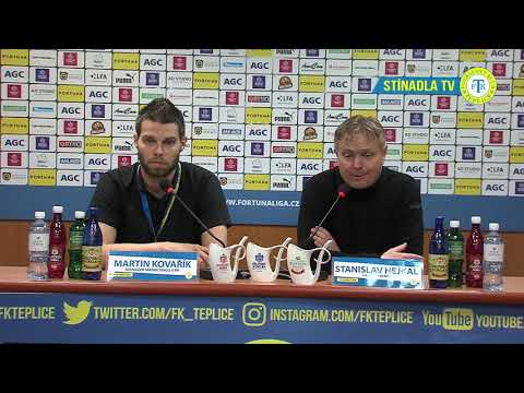 Tisková konference domácího trenéra po utkání Teplice - Opava (3.3.2019)