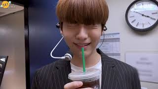 [Sub Español] [T-TIME] SOOBIN learns how to enjoy Americano - TXT (투모로우바이투게더)