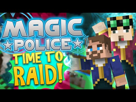 Minecraft Magic Police #72 - Time To Raid (yogscast Complete Mod Pack) video