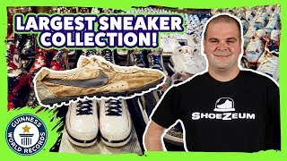 World's largest sneaker collection! - Guinness World Records