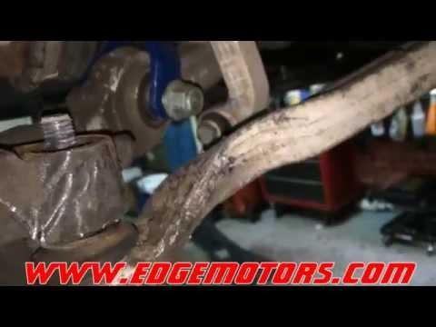 B5 VW Passat Audi A4 C5 Audi A6 front strut replacement DIY by Edge Motors