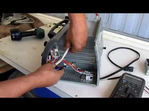 Reparacion de un horno tostador black decker modelo for Horno electrico black decker