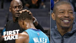 Michael Jordan, Hornets can't afford to lose Kemba Walker - Muggsy Bogues   First Take