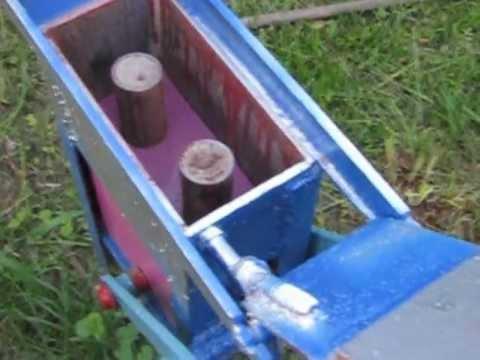 Станок по производству кирпича в домашних условиях..{mini brick plant)