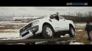 Ford Ranger WildTrak 3.2 TDCi 200 LE 4x4 Automata teszt