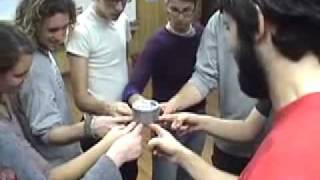 Helium Roll -- Duct Tape Teambuilding Game