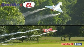 RC SMOKE-EL G-FORCE activated WING TIP SMOKE for FIXED WING and TURBINE JETS