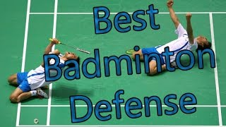 Best of Badminton defenses in the world!