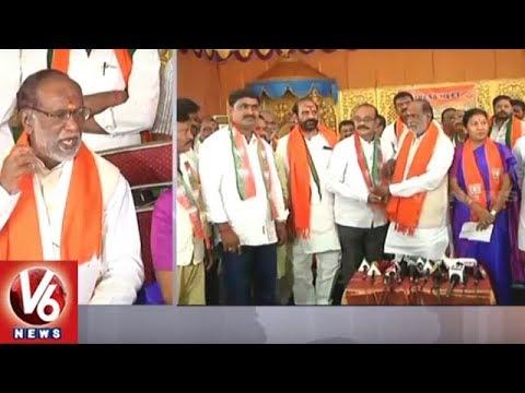 BJP Will Rescue Farmers In Telangana, K Laxman Slams TRS Govt | Warangal | V6 News