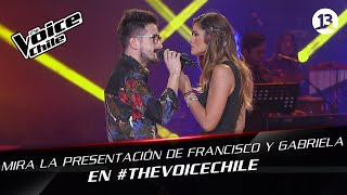 The Voice Chile | Gabriela y  Francisco - Respiro