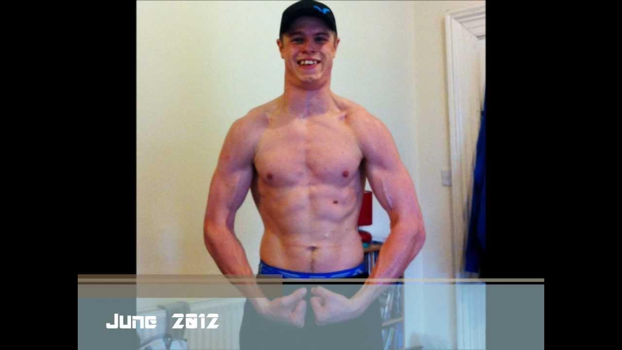 JonnyGotBig - BodyBuilding Muscle Transformation (3 Month