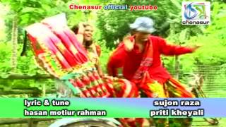 Sono Rikshawala । Sujon Raja   Priti Kheyali । Bangla New Folk Song