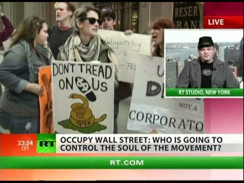 Civil war brewing within OWS?