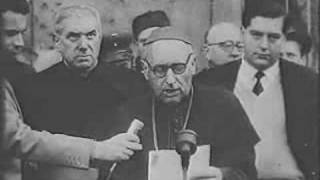 Cardinal Mindszenty on video in 1956