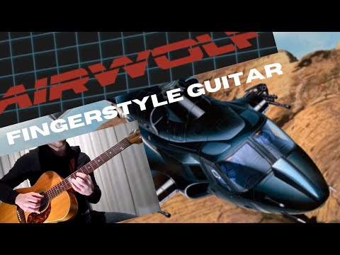 Airwolf Theme Acoustic Guitar video