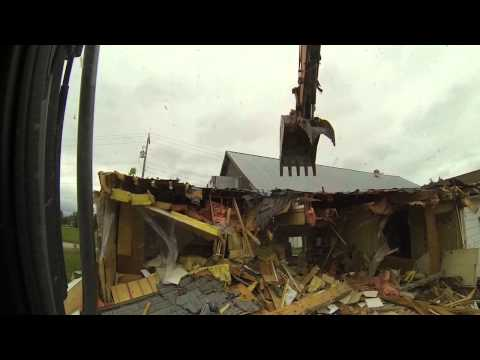 Tyndall Community Hall Demolition part #1