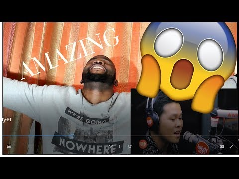 Marcelito Pomoy sings The Prayer (Celine Dion/Andrea Bocelli) LIVE on Wish 107.5 Bus ~ REACTION