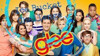 Ice Bucket Challenge Glee Cast