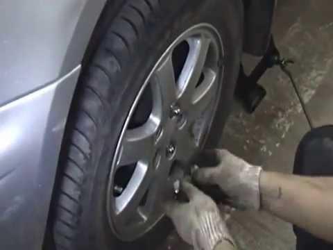 Субару импреза Subaru Impreza замена привода(шруса),своими силами и подручными средствами.