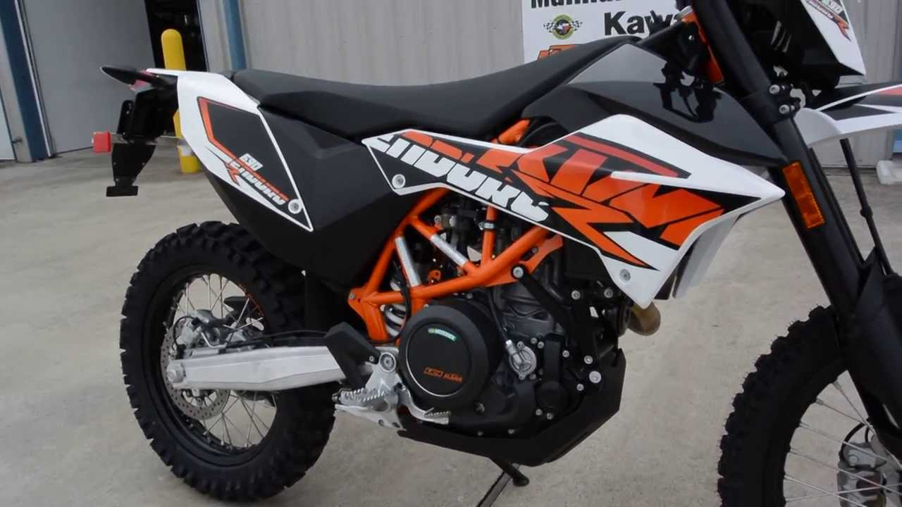 2014 Ktm 690 Enduro R Abs Overview And Walk Around