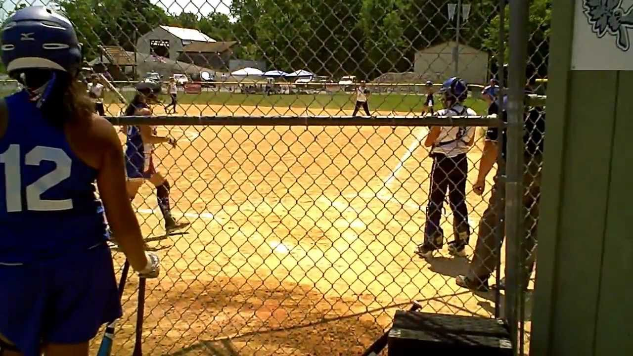 Hit it Over The Fence Hits Homerun Over Fence