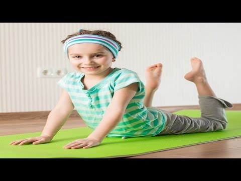 Yoga For Kids Obesity - Bhujangasana For Weight Loss - English