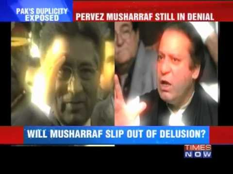 Pakistan media corners Musharraf on Kargil.