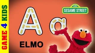 Elmo Loves ABCs - Learn to write Alphbet ABC with Elmo from Sesame Street.
