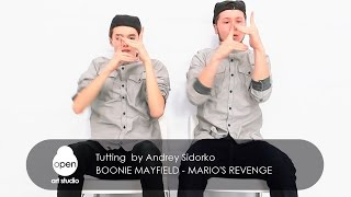 Boonie Mayfield - Mario's Revenge - Tutting  by Andrey Sidorko - Open Art Studio
