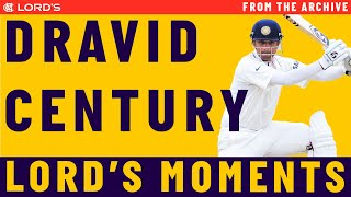 Rahul Dravid's 2011 Test Century at Lords | Match Highlights