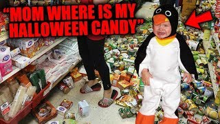 Top 5 Funniest Kid HALLOWEEN TANTRUMS Caught On Camera!