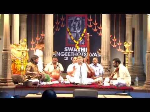 Sanjay Subrahmanyan - Sarojanabha - Swathi Sangeethotsavam 2014