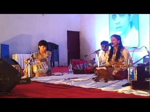 "Sithara sings Gazal ""baske dushwar"" in connection with the padmaprabha award ceremony at wynadu"