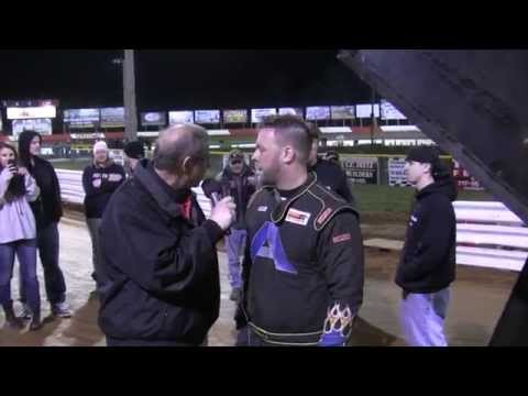 Lincoln Speedway 358 Sprint Car Victory Lane 04-04-15