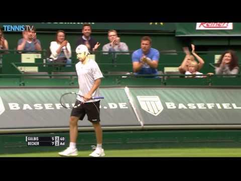 Becker Shows Stellar Defence In Halle Hot Shot 2016