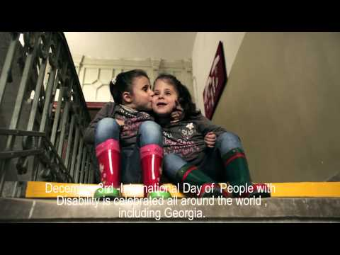 International Day of People with Disability - Georgia 2012 / Promo Video / ENG subtitles
