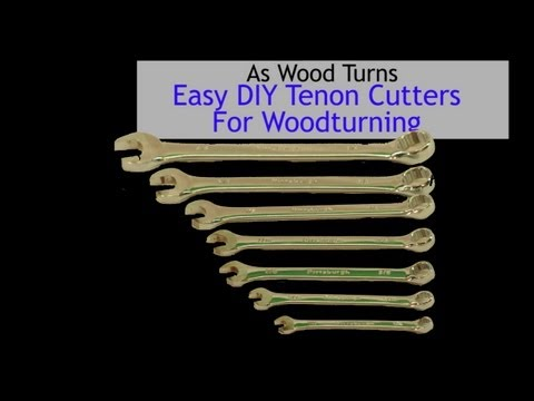 Easy DIY Tenon Cutters for Woodturning