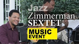 Zimmerman Jazz Sextet (live) outdoor concert / 1104XXXT