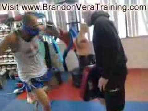 Brandon Vera May 5, 2008 Training... Image 1