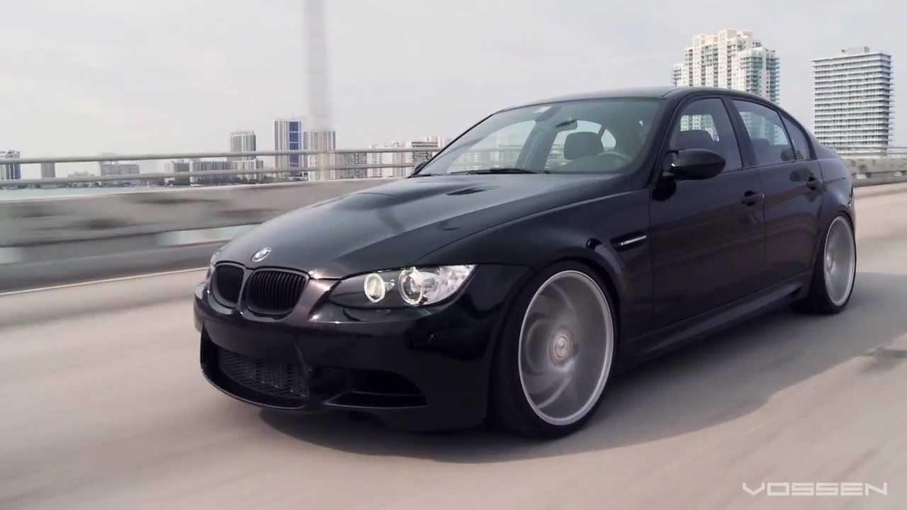 """BMW M3 on 20"""" Vossen VVS-CV3 Concave Wheels / Rims - YouTube"""