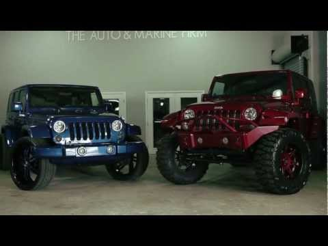Jeep Wrangler Unlimited Street vs Offroad - The Auto Firm by Alex Vega
