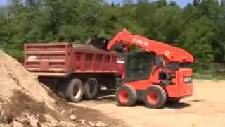 Bán và cho thuê xe xúc lật Skid loader Kubota SSV75