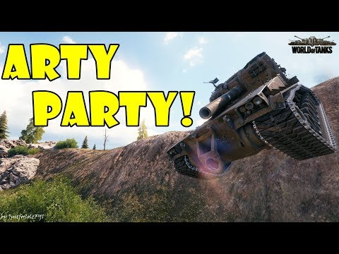 World of Tanks - Funny Moments | ARTY PARTY! (WoT, May 2018 - 2)