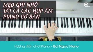 Mẹo Ghi Nhớ Các Hợp Âm Piano Cơ Bản Dễ Nhất - Hướng dẫn Piano - Piano Tutorial