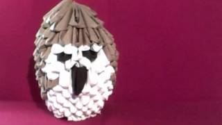 My 3d Origami Owl